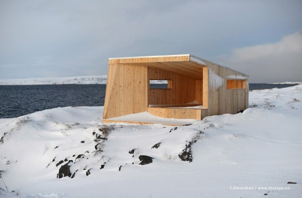 Steilnes bird hide (photo: T. Amundsen/Biotope)